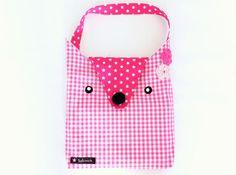 Kindertaschen - Kindertasche Tiertasche pink - ein Designerstück von sofeinsein bei DaWanda