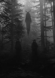 New Dark Art Illustrations God Ideas Fantasy Kunst, Dark Fantasy Art, Dark Gothic Art, Fantasy Witch, Arte Horror, Horror Art, Creepy Horror, Dark Art Illustrations, Illustration Art