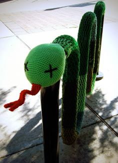 Bike Rack Snake Yarn Bomb Are you an artist? Are you looking for one? Find a business OPPORTUNITY as an artist!!! Join b-uncut, the Art Exchange art.blurgroup.com