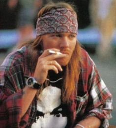 Axl Rose- I was convinced in middle school that he was my future husband! Axl Rose- I was Axl Rose, Guns N Roses, Myles Kennedy, Duff Mckagan, Hard Rock, Steve Jones, Rock N Roll, Hollywood, Nikki Sixx