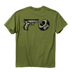 Let everyone know you are a gun nut! http://www.exploreproducts.com/buckwear-gun-nut-tshirt-1479.htm