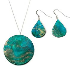 Neptune Necklace and Earrings by PaperAnniversary are featured in a round up post about trends in paper jewelry for spring and summer 2017.