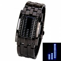 $10.25 Waterproof Watch with Blue Light Time-Date Indicate Steel Watchband for Women
