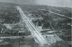 Vatan Caddesi Havadan Görünümü / 1959