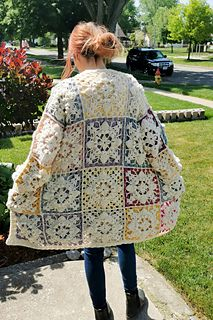 ABOUT THIS DESIGN Cardigan Pattern, Sweater Knitting Patterns, Shrug Cardigan, Crochet Cardigan, Crochet Shawl, Crochet Sweaters, All Free Crochet, Knit Or Crochet, Crochet Designs