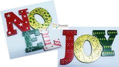 letreros para colgar, navidad