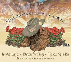 Remembering & honouring the in Australia Anzac Day Quotes, Anzac Day Australia, Lest We Forget Anzac, Anzac Soldiers, Melbourne, Sydney, Ww1 Art, Army's Birthday, Army Tattoos