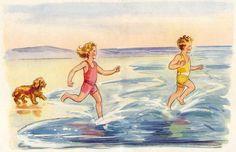 Eileen A. Soper - At Seaside Cottage by Enid Blyton