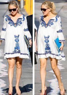 vestidos gravidas confortaveis