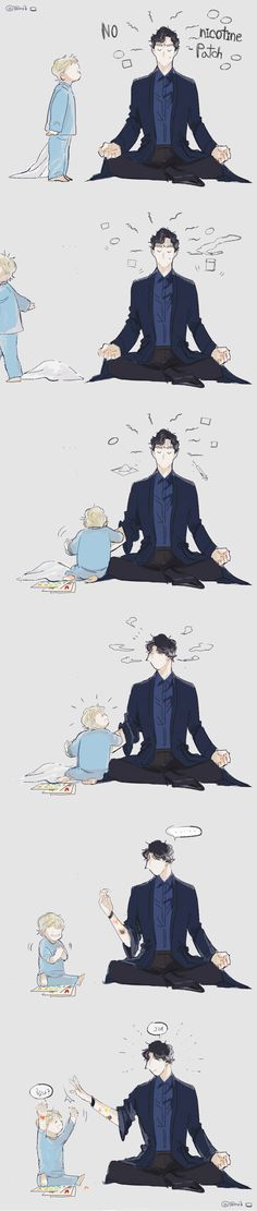 Kid!John or Parentlock ? I'll never know, but I prefer parentlock even if when they have a boy, he's usually dark-haired