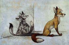 I love my shadow by Culpeo-Fox.deviantart.com on @deviantART