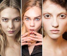Fall/ Winter 2015-2016 Makeup Trends: Artistic Makeup