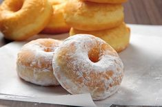 Potato Doughnuts Recipe, Donut Recipes, Cake Cookies, Donuts, Food And Drink, Potatoes, Bread, Homemade, Meals