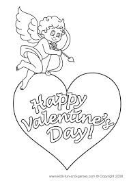 Valentines Day Colouring In Pages