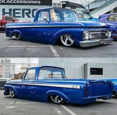 Hot Wheels - Yeow @severedtiesiowa killed it at #sema2016 with his bad ass Ford F100, so smooth!  @kcoxphoto #ford #f100 #airsuspension #stance #bagged #layframe #streettruck #streetrod #hotrod #streetmachine #lowfastfamous
