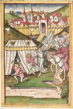 Meisterlin, Sigismundus: Augsburger Chronik Augsburg, 1479 - 1481 Cgm 213 Folio 173