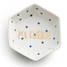 Rosanna Ma Cheri Hexagon Trinket Tray