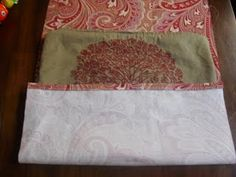 How to cover existing couch pillows with new fabric (to match new furniture)