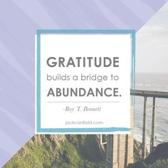 #Gratitude is the single most important thing to practice everyday that leads to #success. #MotivationalMonday