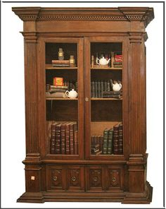 Italian style furniture: biblioteque