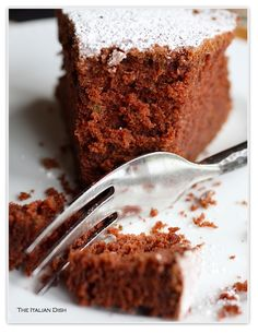 The Italian Dish - Posts - Chocolate Zucchini Cake