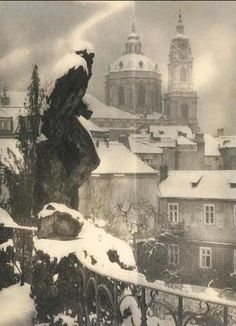 Josef Sudek (1896 - 1976) Winter Prague