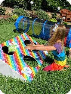 rainbow party game