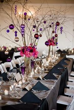 Table Decorations Ideas For A Wedding Reception