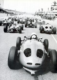 Zandvoort 1963 Grand Prix start :: jacqalan