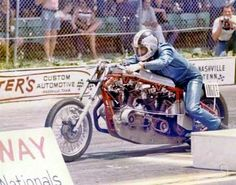 Vian's Bonnie Truett, 78, is well known in the Harley Davidson drag racing world as a mentor, friend and all-around good guy. In August, he and five others will be inducted into the Sturgis Motorcycle Museum Hall of Fame in South Dakota.  http://thesavageroads.blogspot.no/2014/05/bonnie-truett-harley-davidson-drag.html