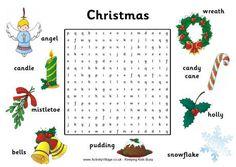 Christmas Word Search 2