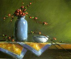 Kék-sárga csendélet ...by Csizmár István