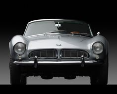 """megadeluxe: """" 1958 BMW 507 Series II Roadster The ultimate driving machine. Made over a half-century ago. """" Wikipedia: The 507 remains a milestone model for its attractive styling, which attracted. Bmw 507 Roadster, Bmw Cabrio, Bmw Z3, Porsche, Automotive Photography, Car Photography, Convertible, Automobile, Ac Schnitzer"""