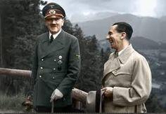 Nazi leaders Adolf Hitler and Joseph Goebbels 1943 [1797х1245]