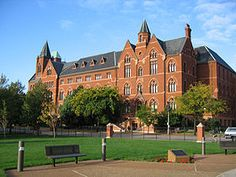 Saint Louis University - McLuhan was hired to teach in the English Department of this Jesuit University in Saint Louis, Missouri; he remained there until 1944.