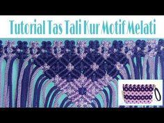 TUTORIAL TAS TALI KUR MOTIF BUNGA MELATI🌸 by Mahmudah_project - YouTube Macrame Art, Macrame Knots, Crochet Poncho Patterns, Passementerie, Macrame Tutorial, Jasmin, Fiber Art, Blog, Diy