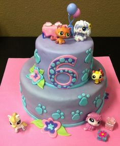 Littlest Pet Shop Cake on Cake Central