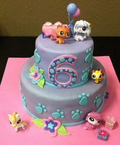 Littlest Pet Shop Cake on Cake Central                                                                                                                                                                                 More