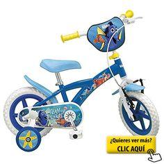 Bicicleta Buscando a Dory 14 Con Sillita #bicicleta