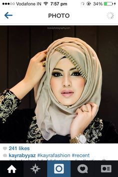 Fashion hijab gowns weddings Ideas for 2019 Hijab Gown, Hijab Outfit, Hijabi Girl, Girl Hijab, Bridal Hijab Styles, Hijab Style Tutorial, Stylish Hijab, Hijab Trends, Muslim Beauty