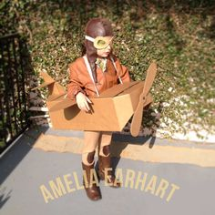 This is my future child, AMELIA EARHART