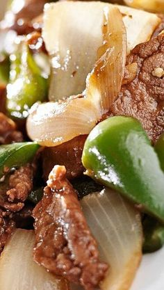 Slow Cooker Pepper Steak❊ ---Made this today. It is very easy and tastes great!