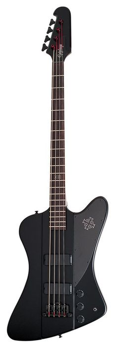 Epiphone Gothic Thunderbird Bass... my new baby. Thunder indeed! Big hearty bass sound, love it.