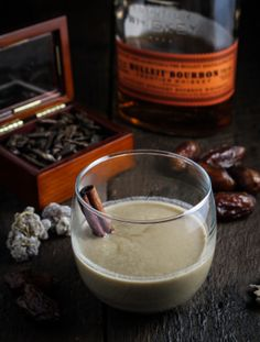 1,001 Kentucky Nights - Dates, Coconut Milk, Bourbon, and Rum | {Katie at the Kitchen Door}