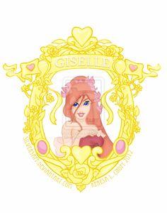 Disney Heroine: Giselle by *KeresaLea on deviantART