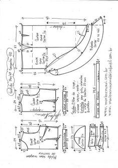 Vestido mullet com babado – Marlene Mukai Costura Diy, Easy Sewing Patterns, Pattern Making, How To Make, Fashion Ideas, Cosplay, Board, Skirts, Instagram