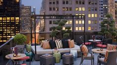 New York City's Best Rooftop Hotel Bars: Salon de Ning at the Peninsula Hotel
