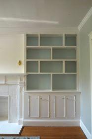 Pawleys Island Posh: built-in bookshelves