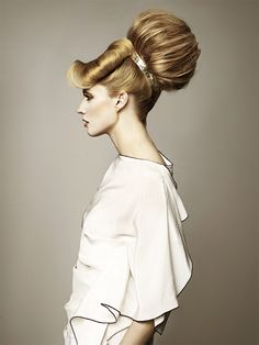 SKY SCRAPER HAIR!! #hair #beauty #bighair