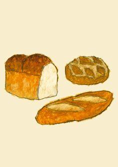 米津祐介のホームページ - bread - Yusuke Yonezu